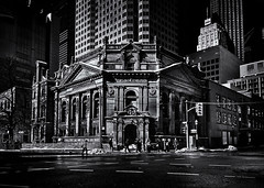 The Hockey Hall Of Fame Toronto Canada (thelearningcurvedotca) Tags: briancarson canada canadian hockeyhalloffame ontario thelearningcurvephotography toronto yongest architecture background blackwhite blackandwhite building city concept construction design downtown environment exterior facade geometric gothic heritageproperty historic history icon landmark light lines monochrome old outdoors pattern perspective street structure texture urban wall window wwwthelearningcurveca absolutearchitecture bwartaward bwmaniacv2 bej blackwhitephotos blackandwhiteonly blogtophoto bwemotions cans2s discoveryphotos iamcanadian linescurves noiretblanc torontoist true2bw yourphototips