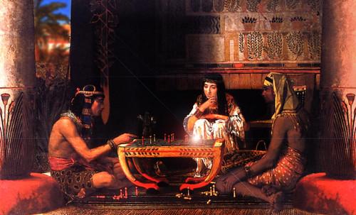 "Senet - Lujoso sistema de objetos lúdicos obsequio del dios Toht a la faraona Nefertari • <a style=""font-size:0.8em;"" href=""http://www.flickr.com/photos/30735181@N00/32399619381/"" target=""_blank"">View on Flickr</a>"