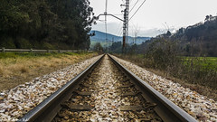 Train tracks in Asturias - Vías del tren en Asturias (RobertoHerreroT) Tags: tren train robertoherrerotardon nalon asturias travel spain españa europa europe viaje trip canon canon1100d canonista photo traintracks rail railes