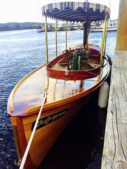 Wooden steam boat - Huon River, Franklin.