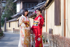 Model:灯さん・ニル狐さん (kanon_7) Tags: portrait ポートレート 振袖