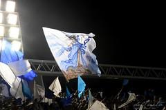 ET Port 170212 005 Torcida bandeiras (Valéria del Cueto) Tags: portela ensaiotécnico bateria escoladesamba riodejaneiro samba sapucaí sambódromodarciribeiro apoteose carnaval carnival carnevaleriocom carnevaledirio valériadelcueto azul brasil brazil águia bandeira
