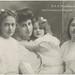 H. K. H. Prinsessan Ingeborg med Prinsessorna Margareta, Märta och Astrid (1910)