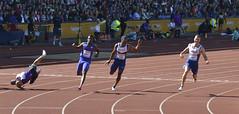 Gemili hits the track (Mount Fuji Man) Tags: athletics outdoor grandprix birminghamuk 2015 diamondleague