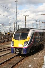 180105@Heaton (zipdiskdude) Tags: newcastle grandcentral 180105 sunderland heaton dmu ecs class180