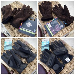 ขายถุงมือขับขี่มอเตอร์ไซค์มือสอง 2 คู่  1. ถุงมือสองชั้น Tucanourbano Softy Suede 9908 size M ราคา 1,300 EMS+50 ถุงมือหนังแท้สองชั้นสีกากี นิ่มมากครับ 2. ถุงมือ Racer Net size M ราคา 1,100 EMS+50 ถุงมือหนังผสมสีดำ มีการ์ดอ่อน ใส่สบายมาก สนใจติดต่อ 081-247