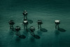 the shadowed guardians (stocks photography.) Tags: sea photography coast seaside aerial stocks whitstable aerialphotography maunsellforts stocksphotography michaelmarsh themaunsellforts theshadowedguardians