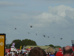Royal Navy Commando Assault Finale: Helicopters (Gareth Can't Fly) Tags: sea flying apache king day display aircraft aviation air flight navy royal assault airshow helicopter merlin helicopters finale wildcat lynx hovering commando hover yeovilton