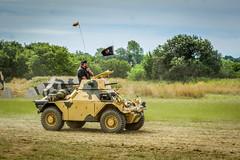 DaImler Ferret (Aultone) Tags: ferret war peace military july nostalgia racecourse daimler folkestone revival the 2015 2226 aultone 00ca71 24455265