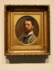 Self Portrait, 1886 - John Singer Sargent (ktmqi) Tags: people paintings johnsingersargent metropolitanmuseumofart americanart bellepoque
