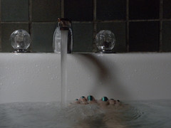 Deep Tub series (of 6) (Room With A View) Tags: feet me toes bathtub