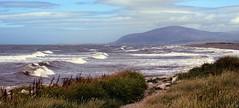 Earnse Bay and Black Combe (billnbenj) Tags: surf waves tide spray cumbria barrow blackcombe walney earnsebay