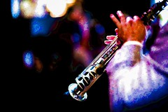 """Soprano"" (""SnapDecisions"" photography) Tags: music nikon florida jazz jupiter sax soprano hirschfeld robertocarlo doubleroads jupiterjazzsociety"