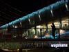 night out (Cosimo Matteini) Tags: cosimomatteini ep5 olympus pen m43 mft mzuiko45mmf18 london southbank southbankcentre silhouette candid man christmas wagamama light decorations england restaurant sign railing handrail