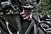Happiness is a warm gun. (Steve.T.) Tags: templeatwar templeatwar2016 reenactment reenactor soldier germansoldier mp40 mp38 nikon d7200 sigma18200 gun machinegun machinepistol hand ww2 magazine wwii secondworldwarreenactment secondworldwar fingers uniform camouflage cressingtemple essex