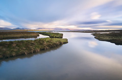 Glenbeigh Morning (annemcgr) Tags: glenbeigh kerry ireland le longexposure water grasses reflections fineartphotography annemcgrath