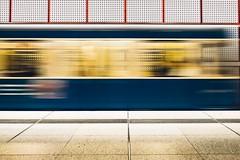 Speed (sinnesblicke) Tags: münchen munich germany deutschland architecture architektur ubahn train metro city europe travel
