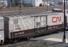 CN Test Train (Timberley512) Tags: cn test train superliner amtrak halifax acr 105 2197 f40ph c408w