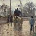 PISSARRO Camille,1870 - Diligence à Louveciennes (Orsay) - Detail 09