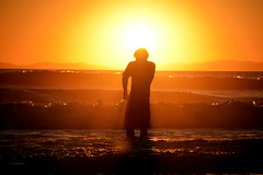 Survivor (vgphotoz) Tags: vgphotoz fugitive survivor pacific ocean waves newportbeach concordians me single alone outcast shine man california usa light sun