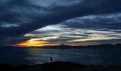 Posta de sol. Cap de Salou. (annasaballs) Tags: skyline dawn salou tarragona landscape cap mar mediterranian costa daurada catalunya