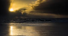 Sunset  at Kalaloch (jfusion61) Tags: washington pacific ocean kalaloch beach olympic national park water sunset clouds sand reflection nikon d810 2470mm light rays northwest