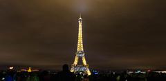 Paris (Koupal D) Tags: eiffeltower eiffel nightshot trocadéro paris parigi nikond610 nikkor nikon nikon2470mmf28 travel tripod treppiede manfrotto longexposure lights nightlights france ایفل پاریس