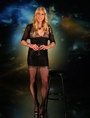 (Kellie Tgirl) Tags: kellie tgirl crossdresser milwaukee pretty sweet cute sexy hot babe cutie doll dress legs