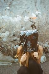 B.B. La Basura Bolivia 2016 (vveronikova) Tags: basura plastic bag girl hair long surreal zenit e helios 44 sustainable bolivia waste artsy art analog analogue film photoprahy fujifilm wasteland pastel hues dreamy kill death destruction planet green