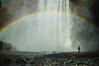 rainbow at the Skógafoss waterfall (rudydlc81) Tags: waterfall iceland rainbow skógafoss nature 2550favs travel exploring mist wet dream luckycharms