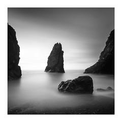 Copper Coast 16 (kieran_russell) Tags: coppercoast waterford sea stack long exposure b7w shadow ireland irelandancienteast