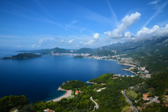 grazie - thanks (francesco melchionda) Tags: svetistefan colors seascape landscape sky water sea cloudscape clouds