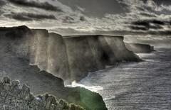Down (pauldunn52) Tags: cwm mawr nash whitmore stairs glamorgan heritage coast wales sous light sea spray waves