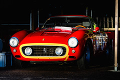 Clive Joy and Patrick Simon - 1960 Ferrari 250 GT SWB/C at the 2016 Goodwood Revival (Photo 4) (Dave Adams Automotive Images) Tags: 2016 9thto11th autosport car cars circuit daai daveadams daveadamsautomotiveimages grrc glover goodwood goodwoodrevival hscc historicsportscarclub iamnikon lavant motorrace motorracing motorsport nikkor nikon period racing revival september sussex track vscc vintage vintagesportscarclub davedaaicouk wwwdaaicouk clivejoy patricksimon 1960ferrari250gtswbc 1960 ferrari 250 gt swbc competition berlinetta
