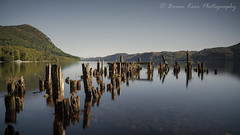 Loch Ness (.Brian Kerr Photography.) Tags: lochness scotland visitscotland scotspirit jetty nessie scottishlandscapes reflections mountains urquhartcastle