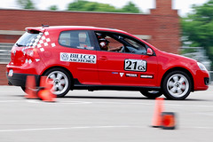 GTI... (R.A. Killmer) Tags: vw gti autocross race racer racing cone fast quick blur horsepower tires worldcars