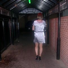 Blackpool 130210    (6) (janegeetgirl2) Tags: street out manchester outside canal tv high dress leeds clubbing crossdressing tgirl transgender short transvestite heels milton keynes blackpool crossdresser ts transsexual bno
