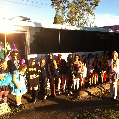 How about a dress up party on our #PinkPartyBus ?