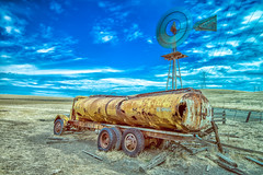 DSC_0468-824.jpg (RHMImages) Tags: longexposure abandoned windmill field truck landscape rust decay dry le rusted rusting livermore tanker 10stop altimontpass