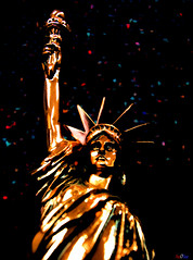with liberty and justice for all..... (Stu Bo) Tags: life birthday blue light red usa white holiday art history love beautiful america liberty photography freedom justice artwork truth artist artistic faith joy honor happiness landmark lookup american dreams cs3 artisticexpression photoartbloggroup