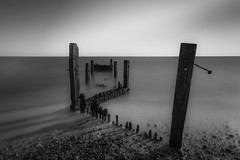 Minnis Bay (Robgreen13) Tags: ocean uk longexposure beach sunrise bay kent coastal stopper groynes minnis ndfilters birchingtononsea