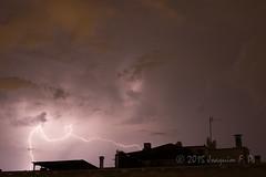 Noche de tormenta (Joaquim F. P.) Tags: cataluña costadaurada costadorada mediterráneo meteo meteorología nikon salou tarragona tormenta rayos lightning d610 noche nocturna