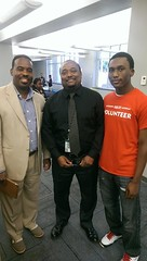 Dr. Robert Blaine, Jason Brookins JSU & Phillip Brookins