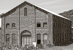 Abandonded Louisville Slugger Factory (murrayi) Tags: bw abandoned buildings baseball louisville bats slugger