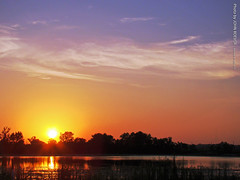 Sunset at Baker Wetlands, 27 July 2015 (photography.by.ROEVER) Tags: summer lawrence july wetlands kansas douglascounty 2015 bakerwetlands haskellavenue july2015 e1500rd