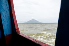 DSC_7077_LR (CharlieBro) Tags: 2016 centroamerica lagonicaragua nicaragua ometepe volcánconcepción bigwaves boat ferry island isola lago lake nave onde volcano vulcano