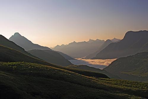 Above Hochtannbergpass