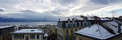 Snowy Lausanne panorama (somabiswas) Tags: switzerland suisse lausanne snow panorama lakes lacleman travel cityscape winter saariysqualitypictures