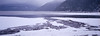 Harrison Lake 1 (Orion Alexis) Tags: 35mm film analog panorama xpan fujifilm superia 400 tx1 harrison lake winter snow ice cold canada mountains nature widescreen cinematic landscape shoreline