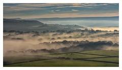 Misty day at Castle Hill (belly.1964) Tags: castlehill huddersfield nikond7200 misty clouds weather sky sigma1850f28